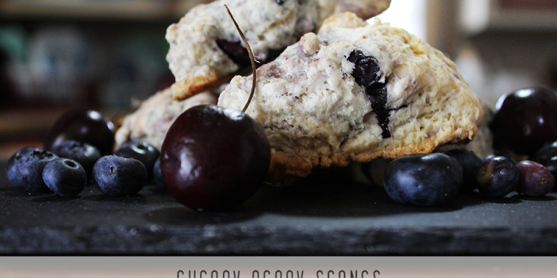 Cherry Berry Scones