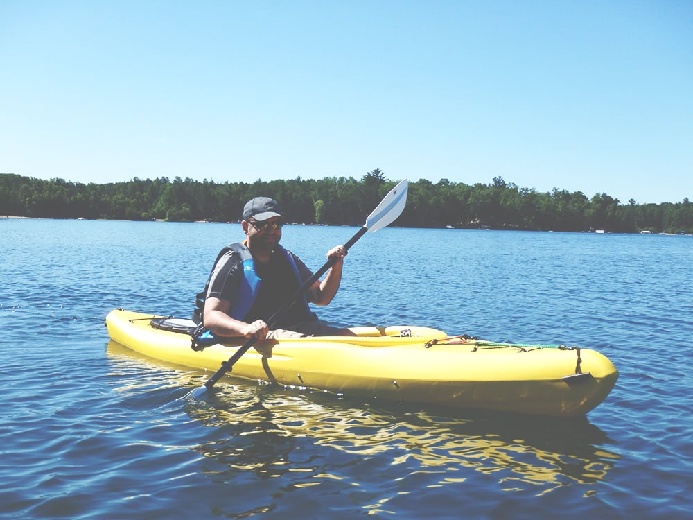 Nathan Kayaking