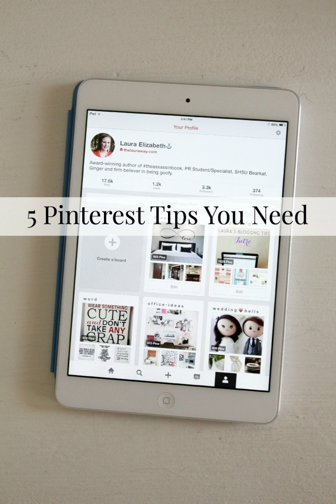 Five Pinterest Tips You Need