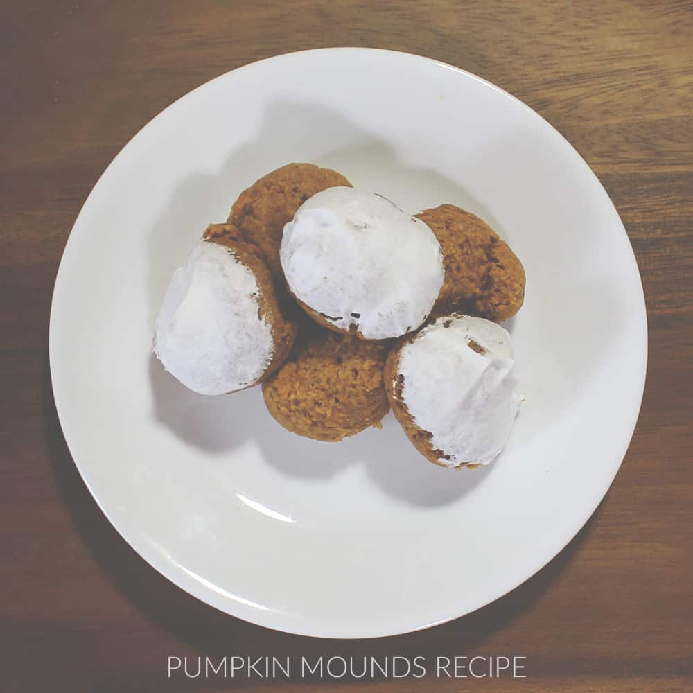 Pumpkin Mounds - Cool Whip