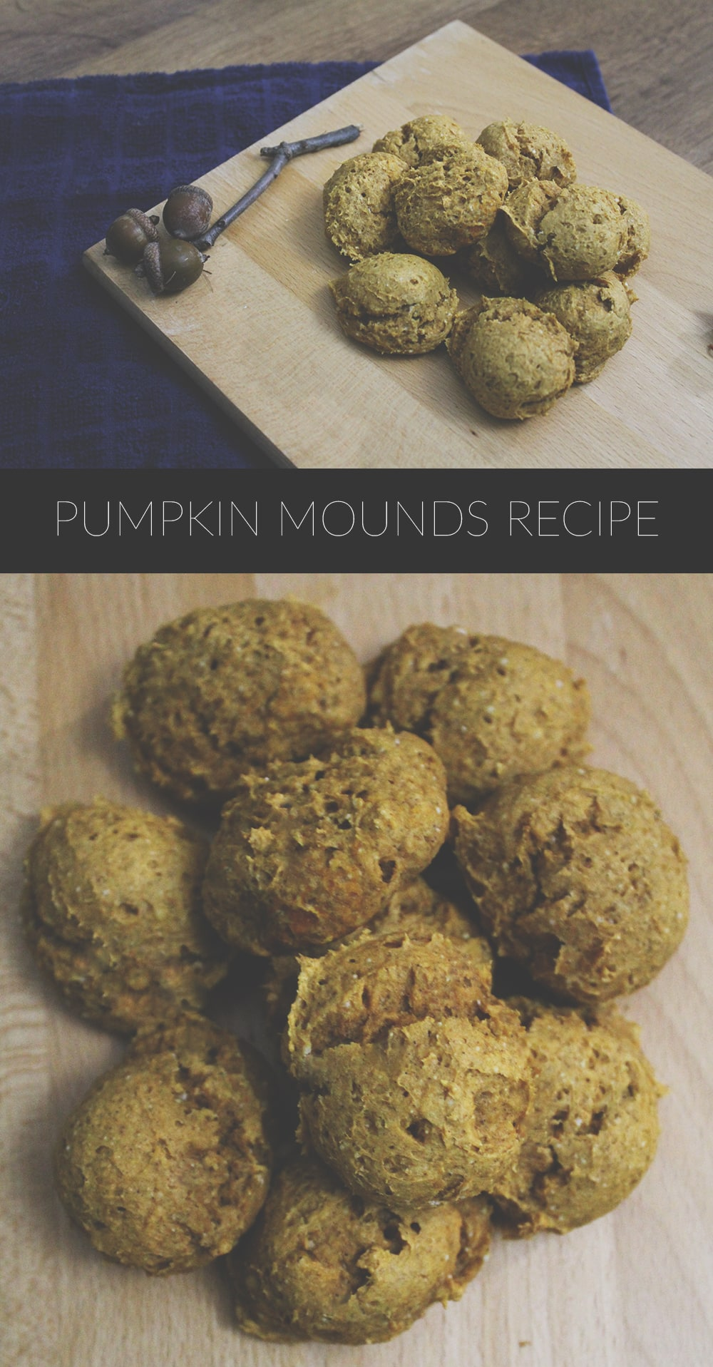 Pumpkin Mounds Recipe Long