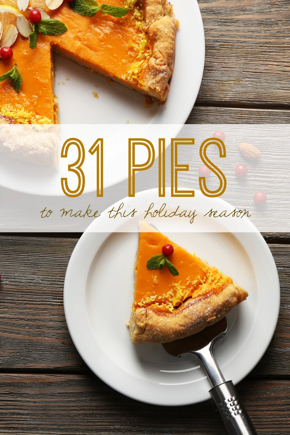 31 Pies to Make This Holiday Season