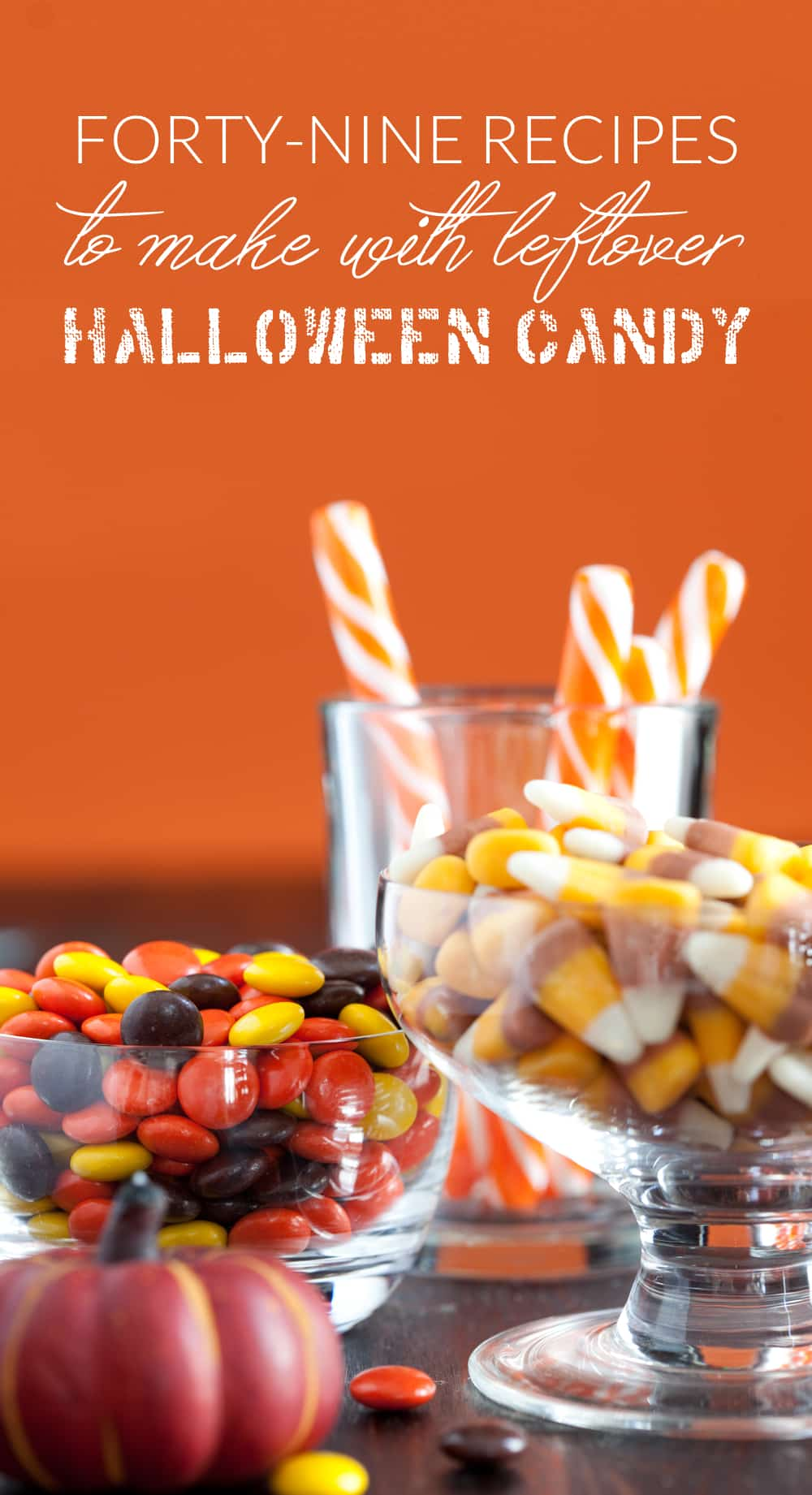 Whether you have leftover Halloween candy or just need something new to do with your favorite chocolate treats, you won't want to miss these delicious candy bar recipes. #CandyBar #LeftoverHalloweenCandy #HalloweenCandy #halloween #chocolaterecipes