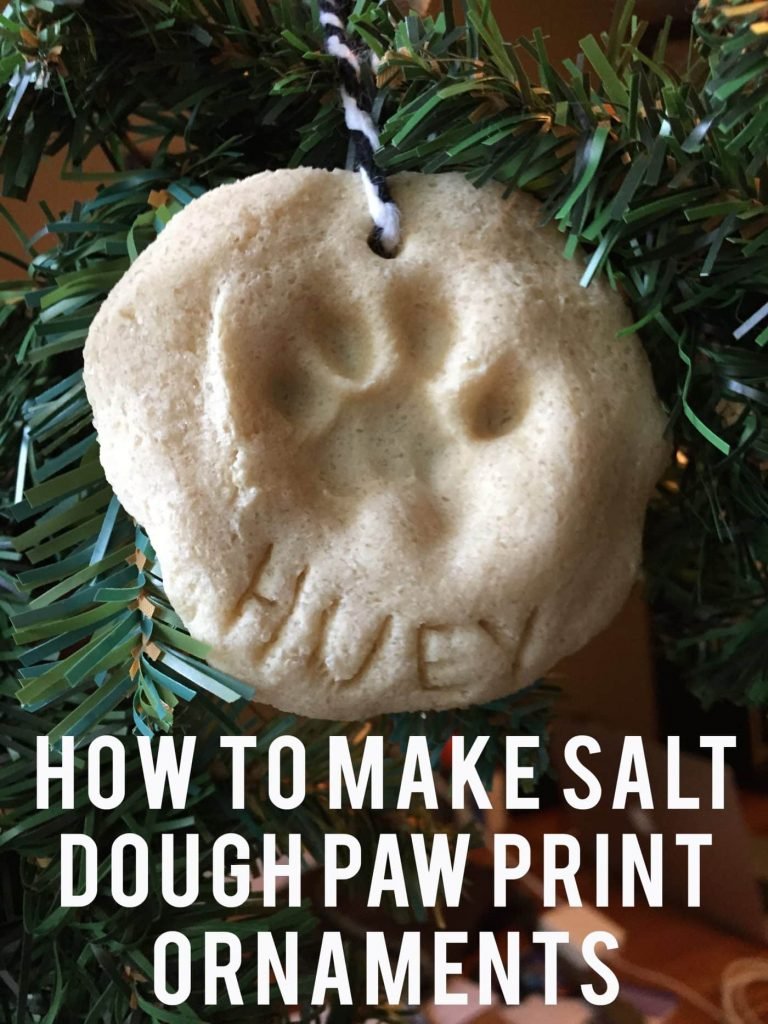 Paw Print Ornaments DIY