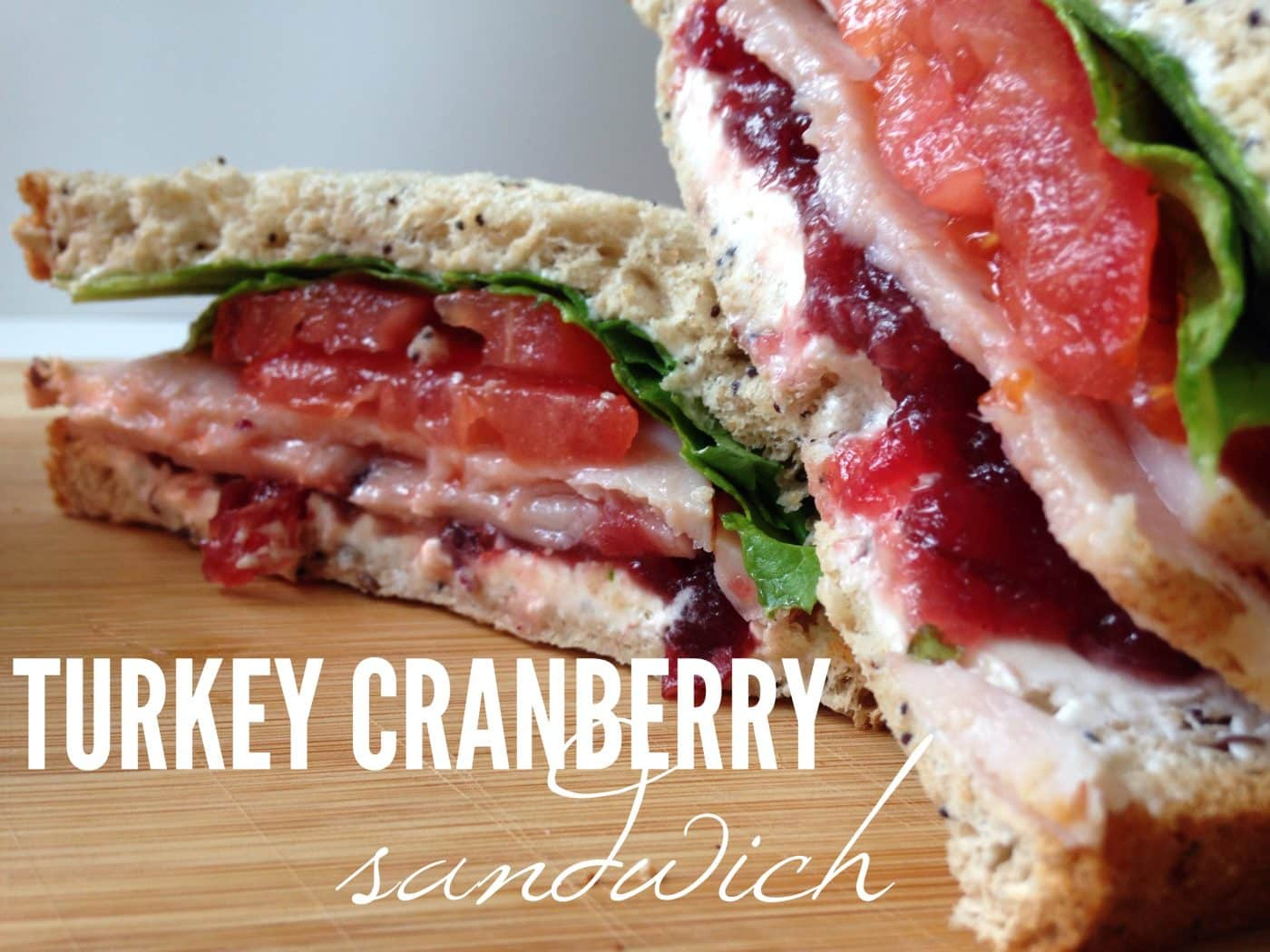 Turkey Cranberry Sandwich Recipe - Hello Nature