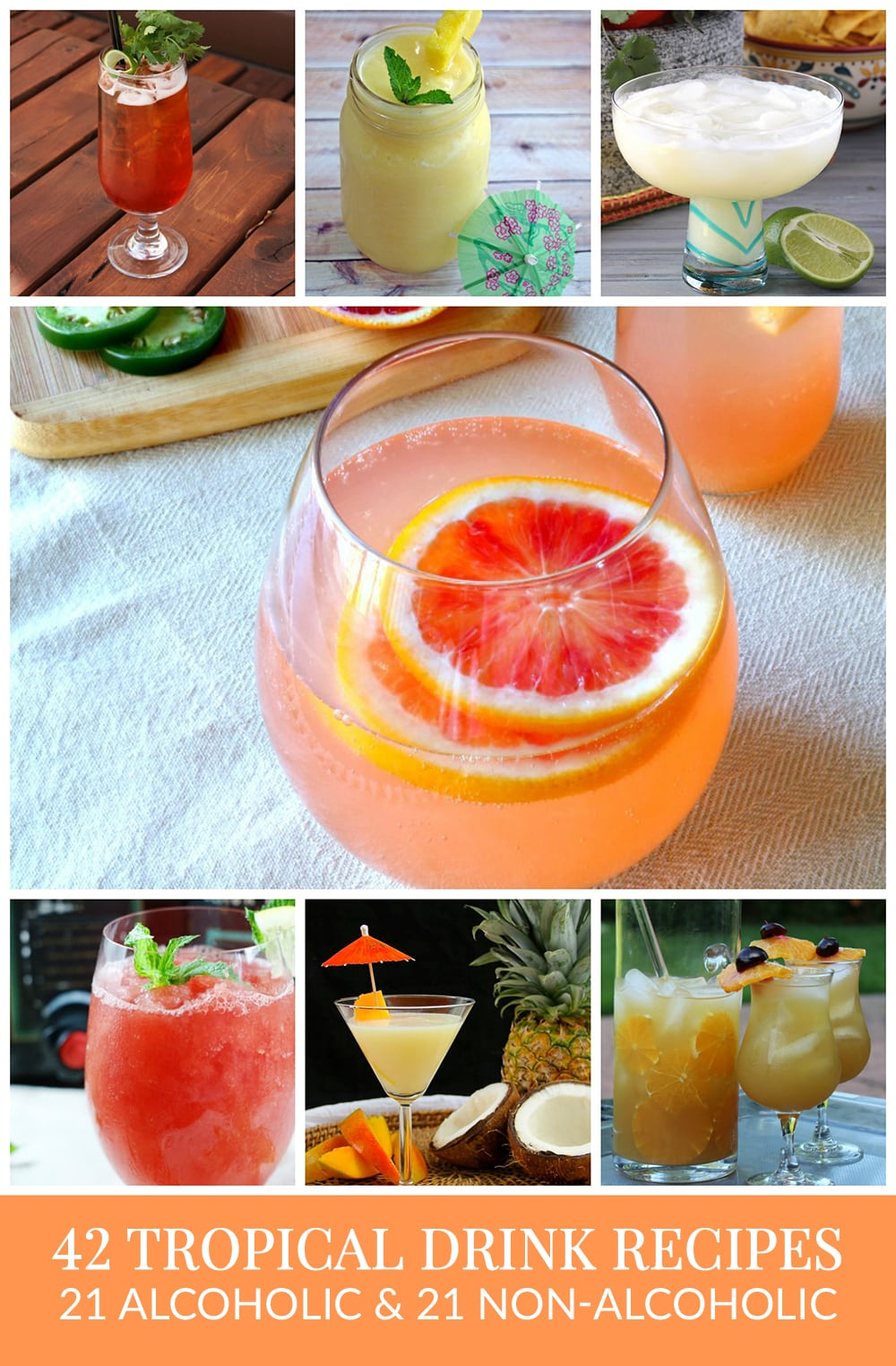 Tropical Drink Recipes