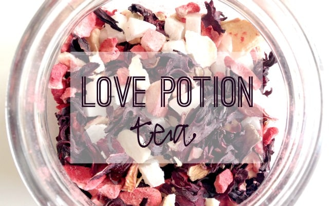 Valentine's Day Recipe: Love Potion Tea
