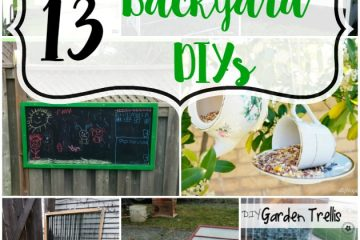 13 Backyard DIYs | Hello Nature Blog