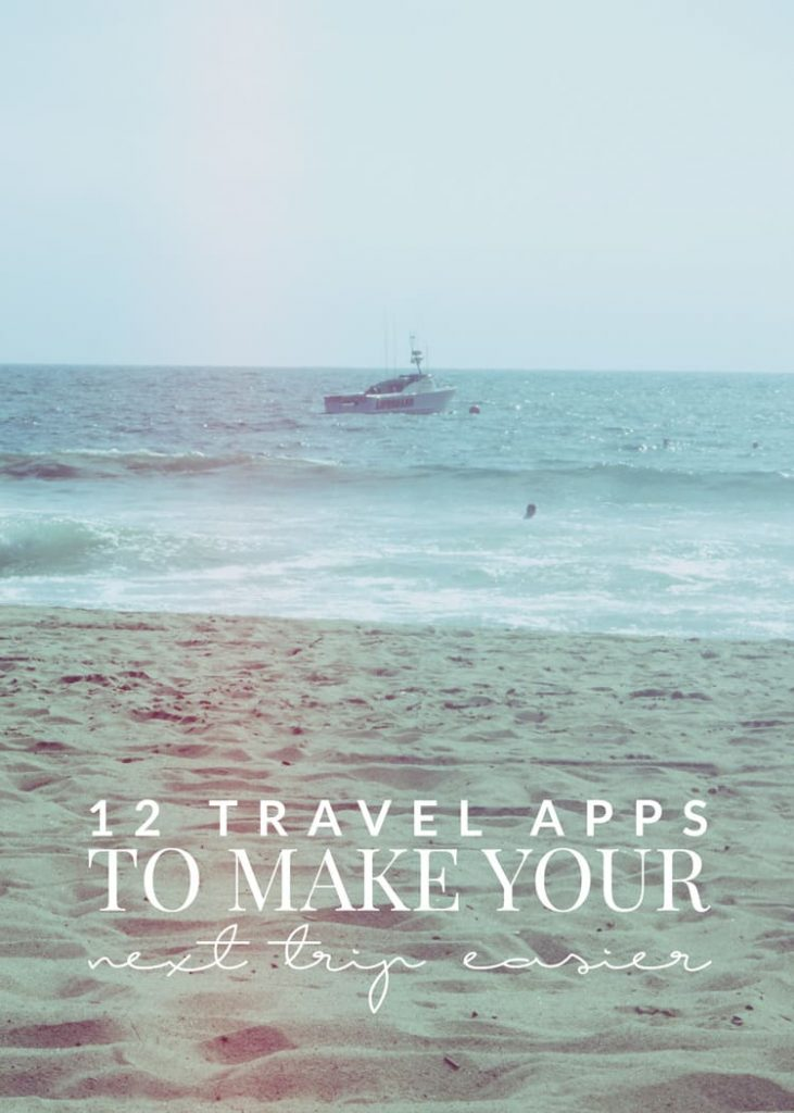 These 12 travel apps are sure to make your next road trip or international flight easier and more relaxing. Less stress means more time to enjoy your trip!