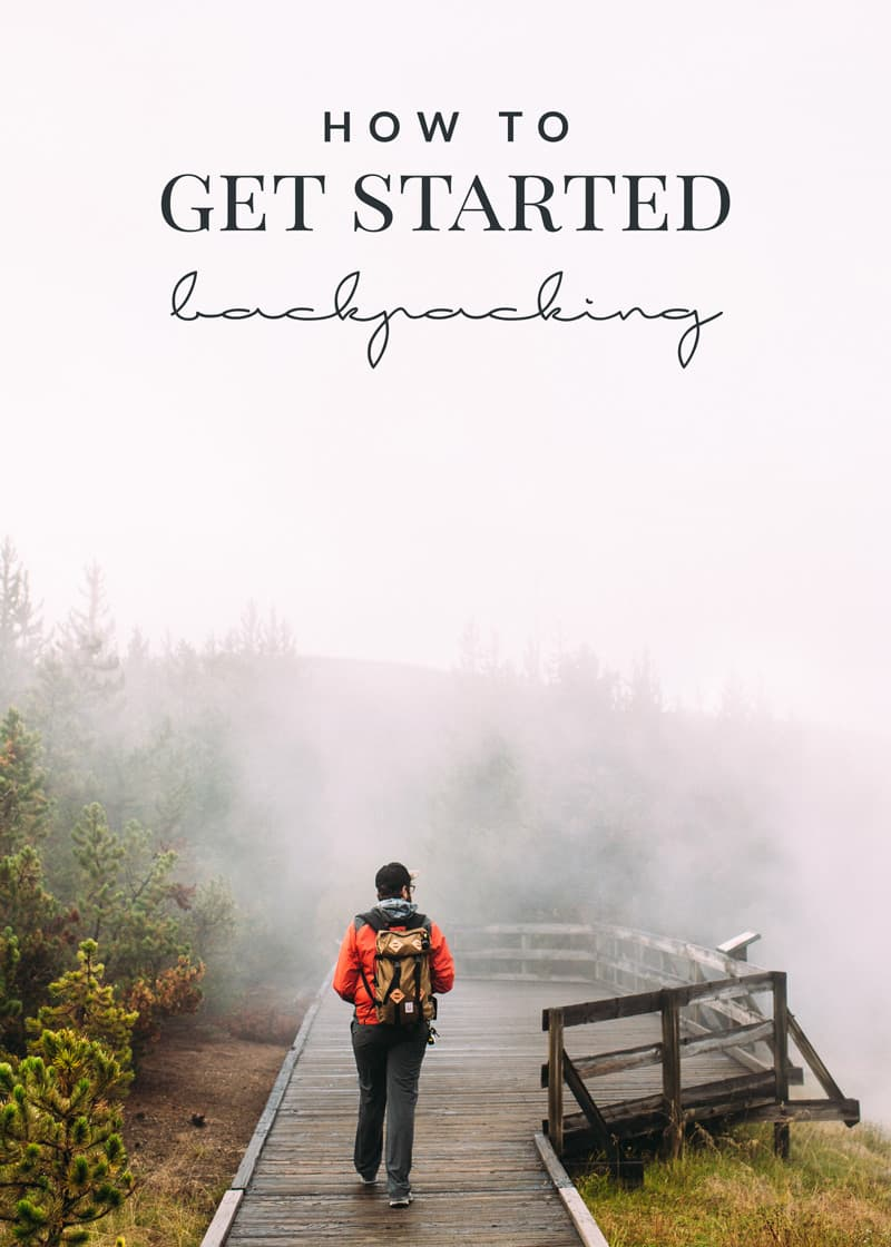 If you've wanted to get started backpacking, you HAVE to check out these tips! You'll be enjoying the trails and the great outdoors in no time!
