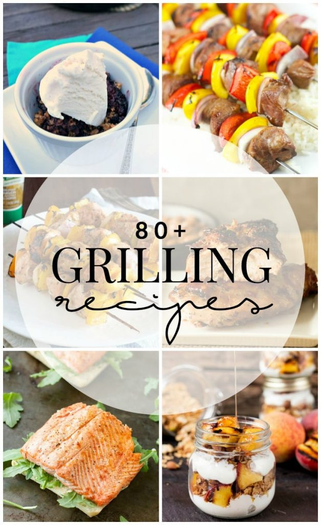80 Grill Recipes