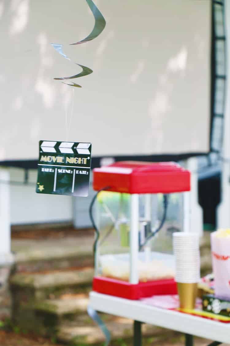 Hosting a backyard movie night is so easy and it's fun for the entire family! Here are some tips on making your own backyard movie night a success!