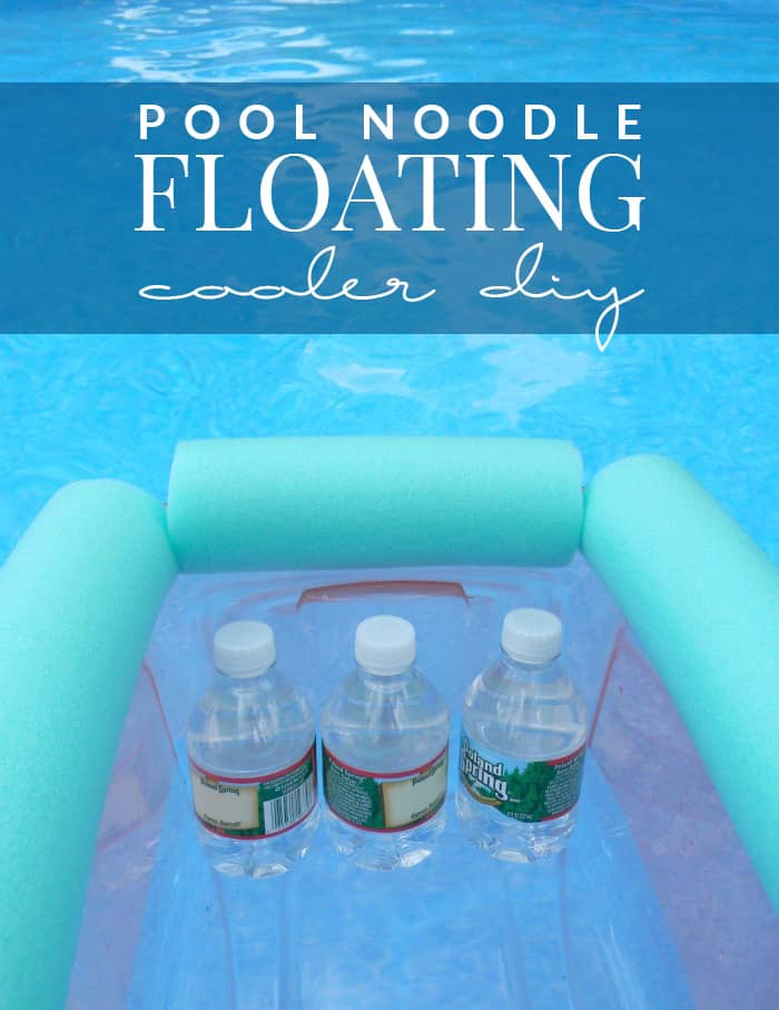 Pool Noodle Floating Cooler by Hello Nature