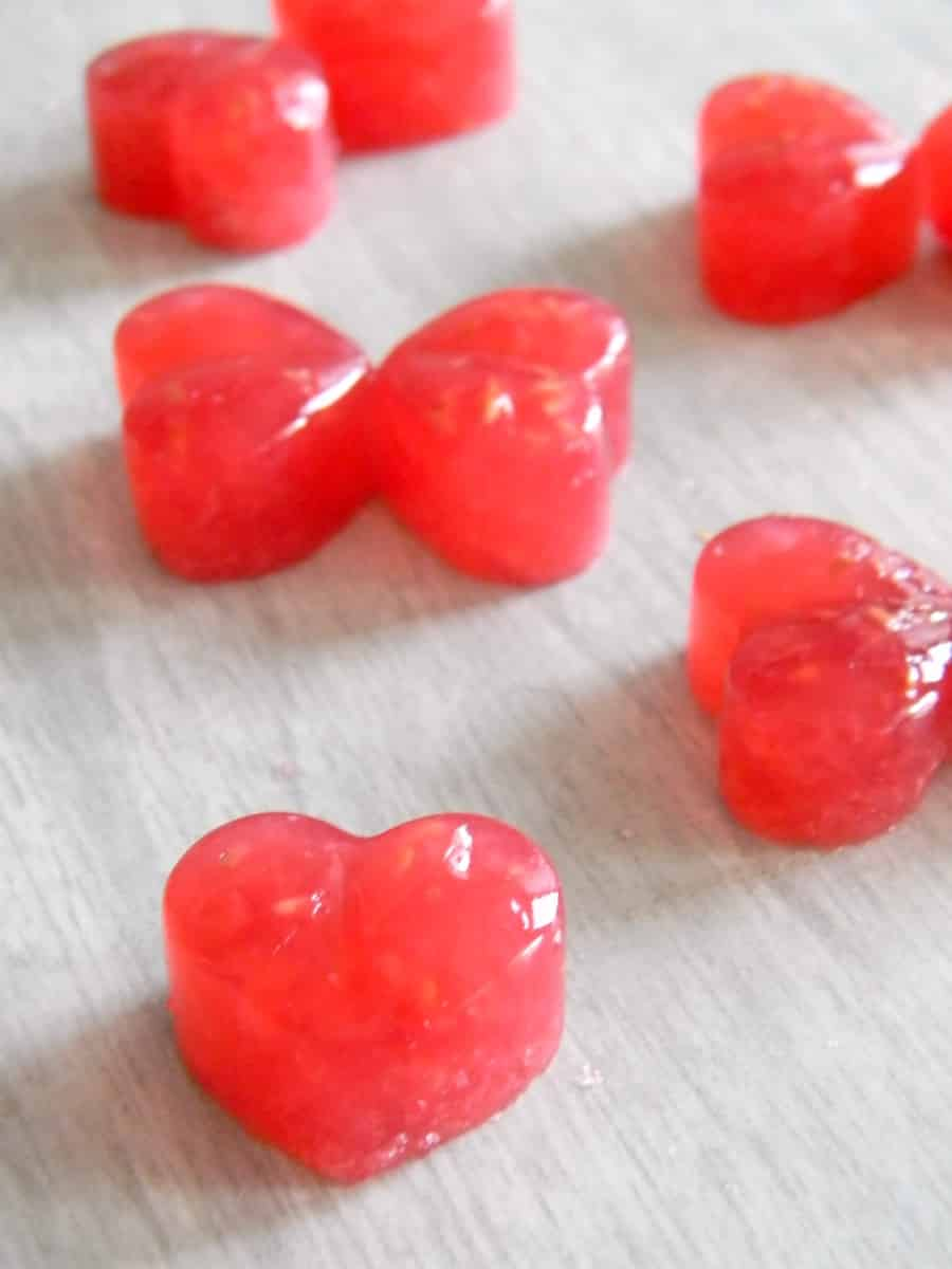 These delicious homemade raspberry lemonade gummies are a healthier, more natural option than sugar loaded store bought ones! Perfect for the whole family!