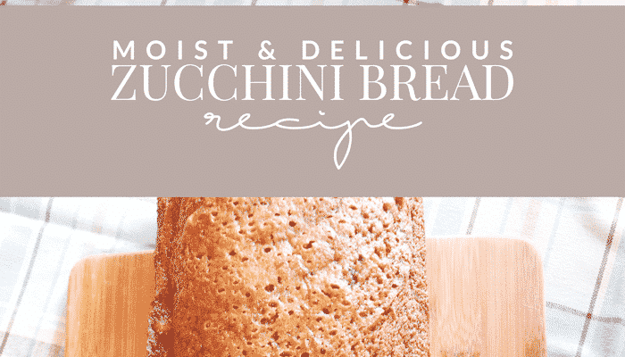 The Only Zucchini Bread Recipe You'll Ever Need
