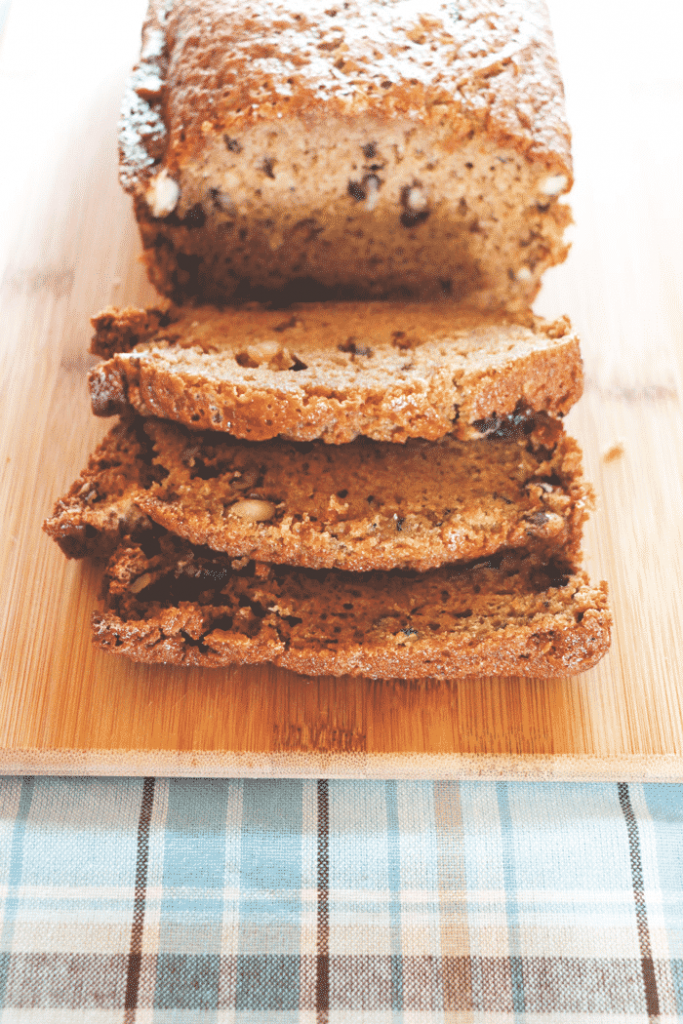 This is the only zucchini bread recipe you'll ever need! It's easy to make, absolutely delicious and super moist with nuts and chocolate - YUM!
