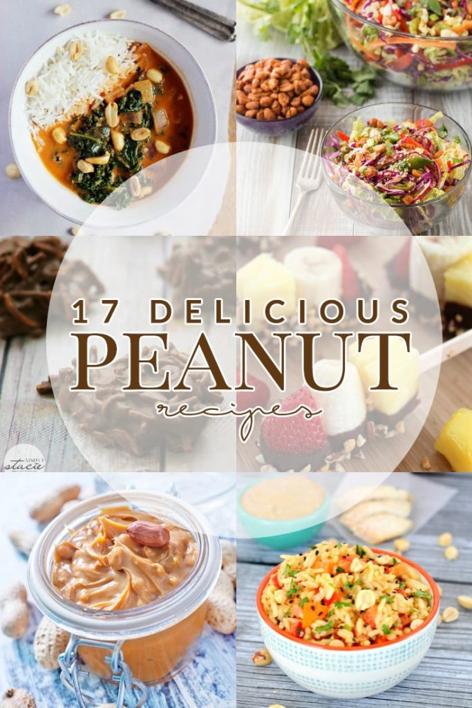 Change up how you enjoy peanuts with these seventeen delicious peanut recipes for National Peanut Day!