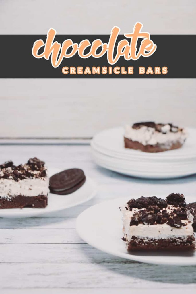 Looking for an easy chocolatey Halloween dessert that's perfect for the whole family? You MUST make these Chocolate Creamsicle Bars then!