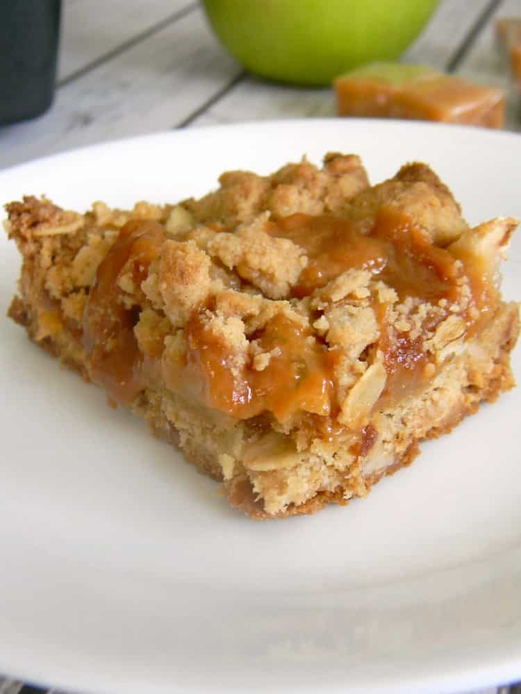 Need to use up some apples? Or maybe you need a gooey treat that just oozes Fall flavors? You've got to make these Caramel Apple Bars!