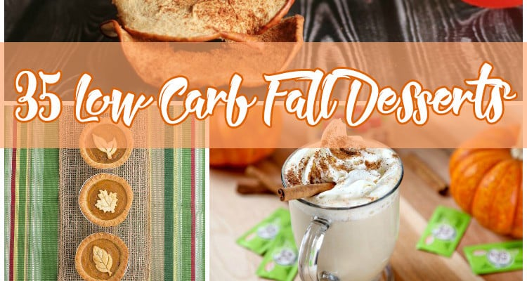 35 Low Carb Fall Desserts  {+ a $35 Visa Gift Card Giveaway!} *CLOSED*