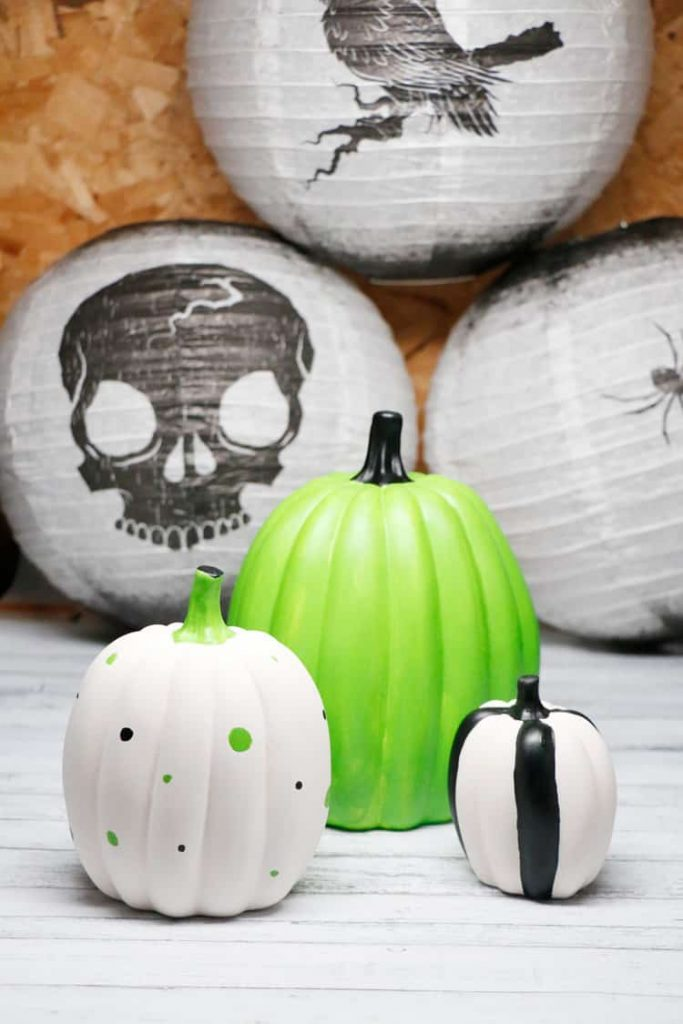 Painted Pumpkin Decorating Diy Hello Nature