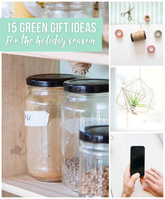 Green Gift Ideas for the Holiday Season