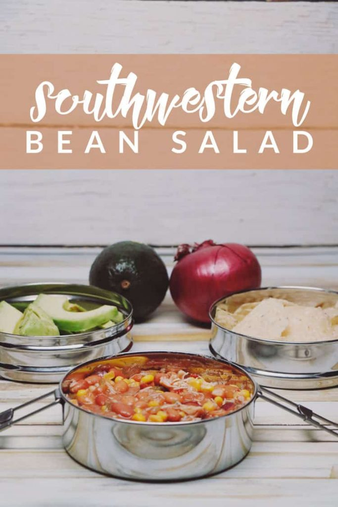 Need an delicious protein packed dish bursting of flavor? This Southwestern Bean Salad Recipe is perfect for you! Easy to make and even easier to enjoy!