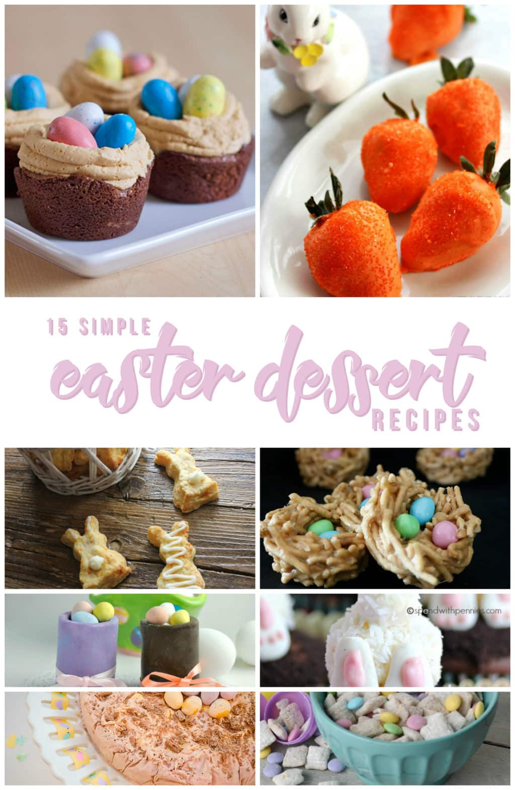 15 Simple Easter Dessert Recipes Hello Nature