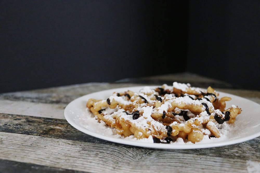 Simple Funnel Cake Recipe {Maker's Mix-Up} - Hello Nature