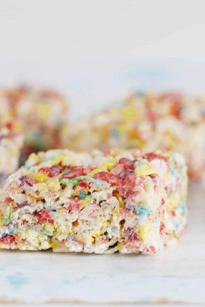With a simple addition to the traditional bars, these Rainbow Rice Krispie treats are the perfect way to indulge in a little color and a lot of flavor!