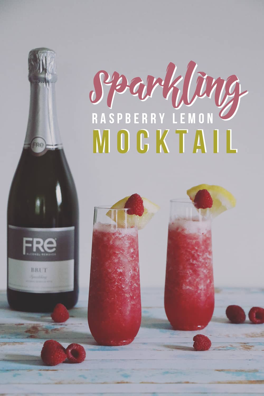 This sparkling raspberry lemon mocktail is a must make drink for Summer! It's refreshing and sweet - perfect for those nights spent enjoying the backyard!