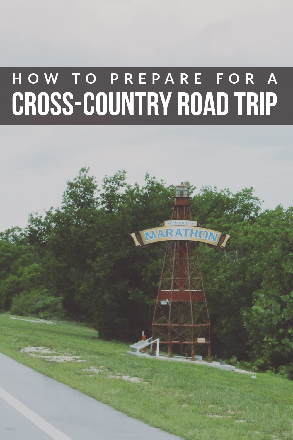 Wanting to head out on the road to tour the country? These easy tips on how to prepare for a cross-country road trip will help!