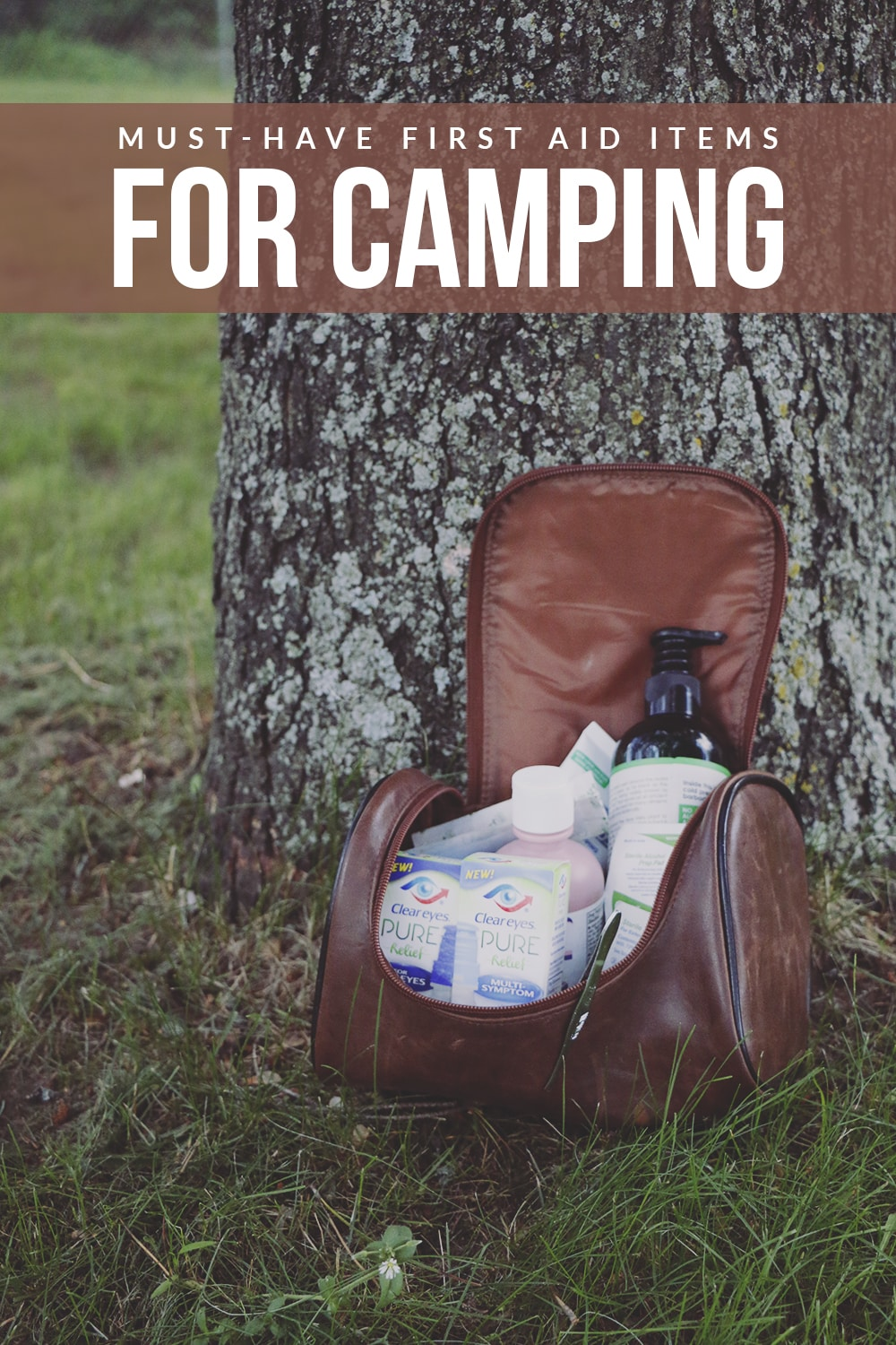 Not sure what to bring along for first-aid care on your next camping trip? These must have first-aid items for camping are a great place to start!