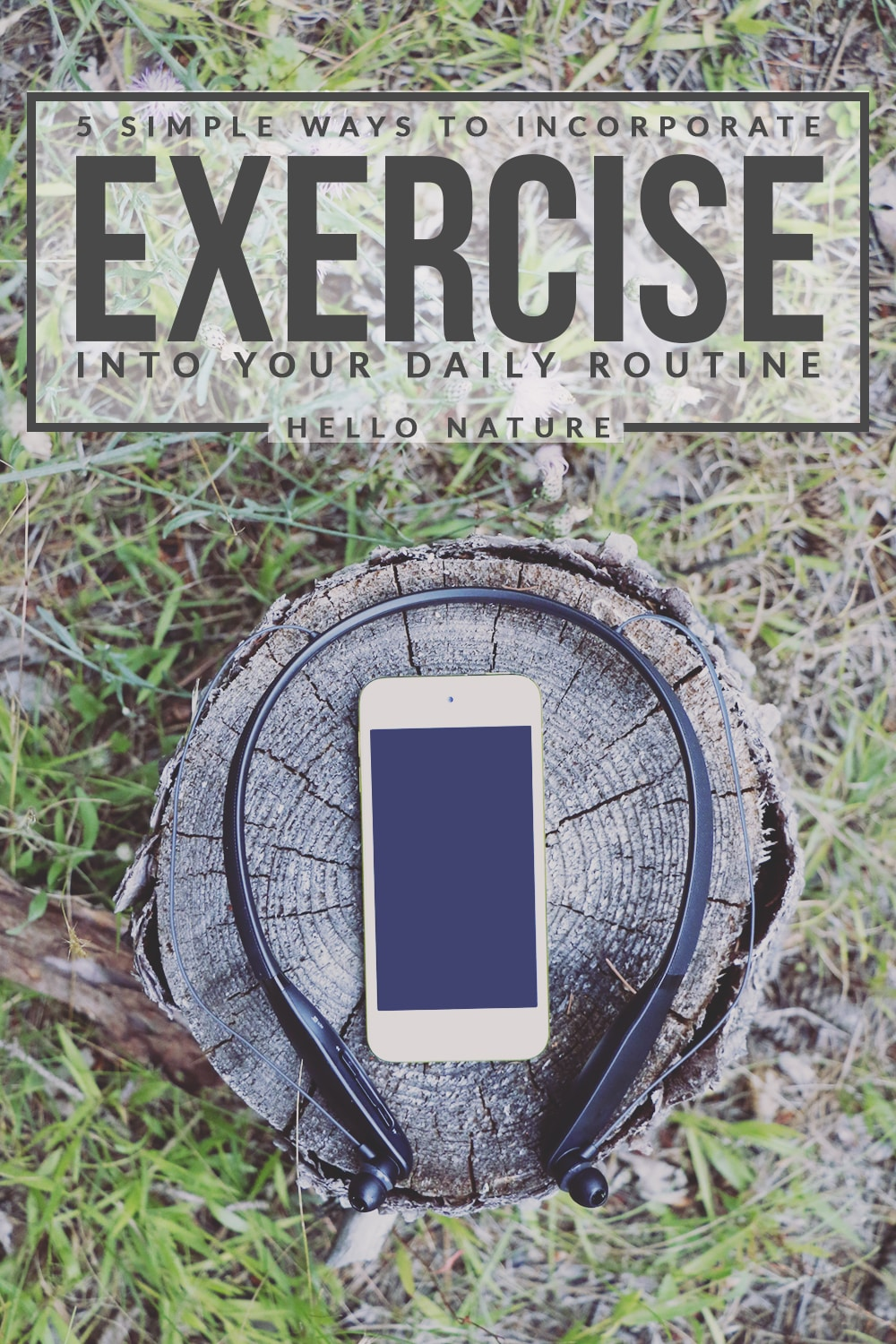 Exercising doesn't have to be super time-consuming! Here are five simple ways to incorporate exercise into your daily routine.