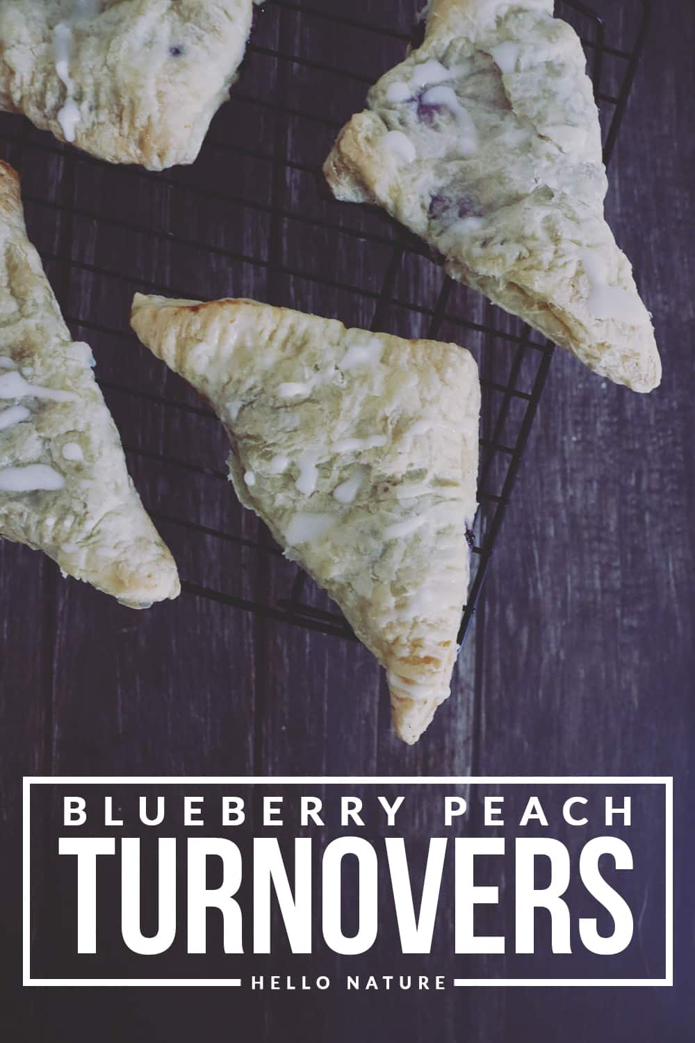 These blueberry peach turnovers have the perfect summertime flavor combination. With sweet blueberries and juicy peaches, you can't go wrong!