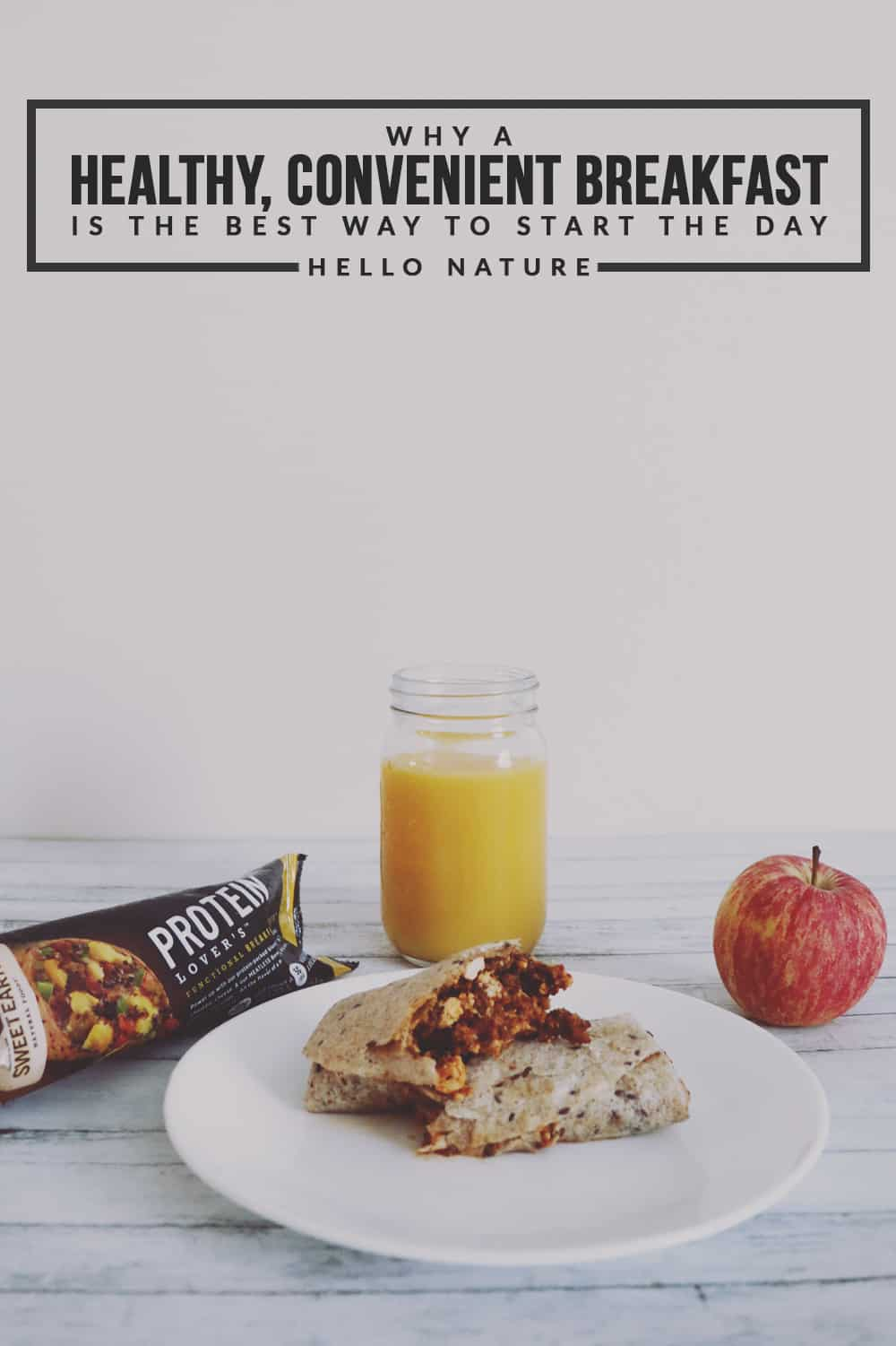 Need some extra time in your morning? A healthy, convenient breakfast with Sweet Earth Natural Foods are a great way to start the day!