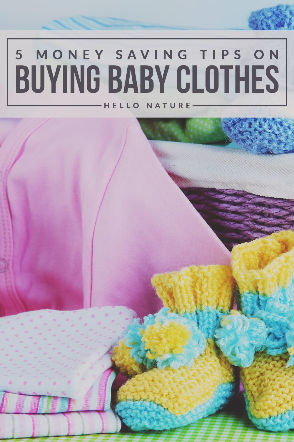 5 Money Saving Tips on Buying Baby Clothes