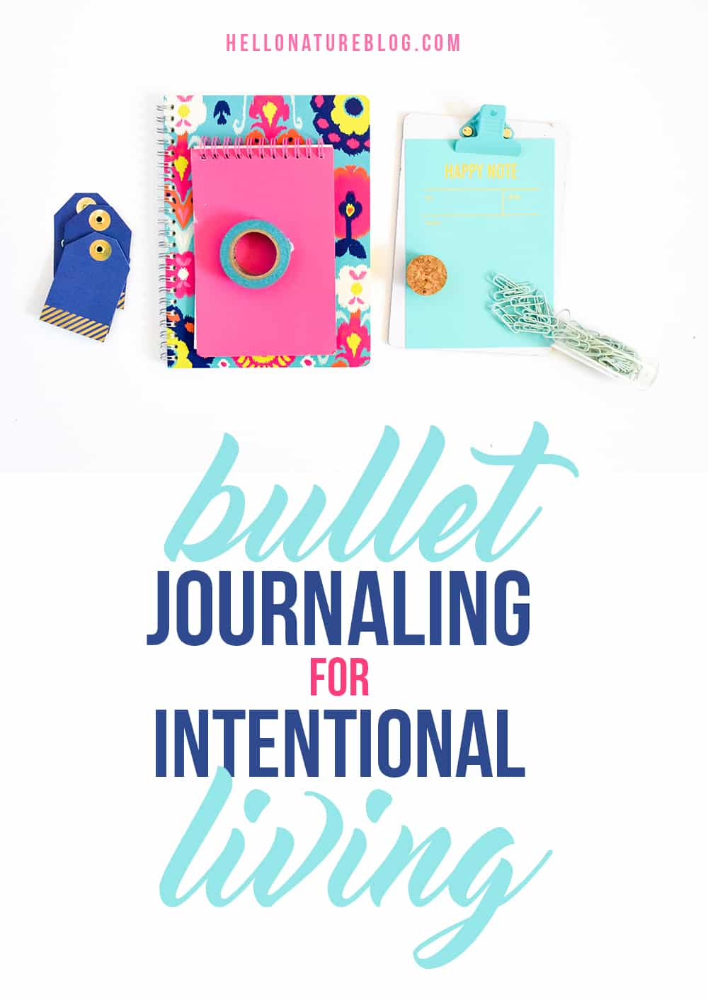 Using a Bullet Journal for Intentional Living