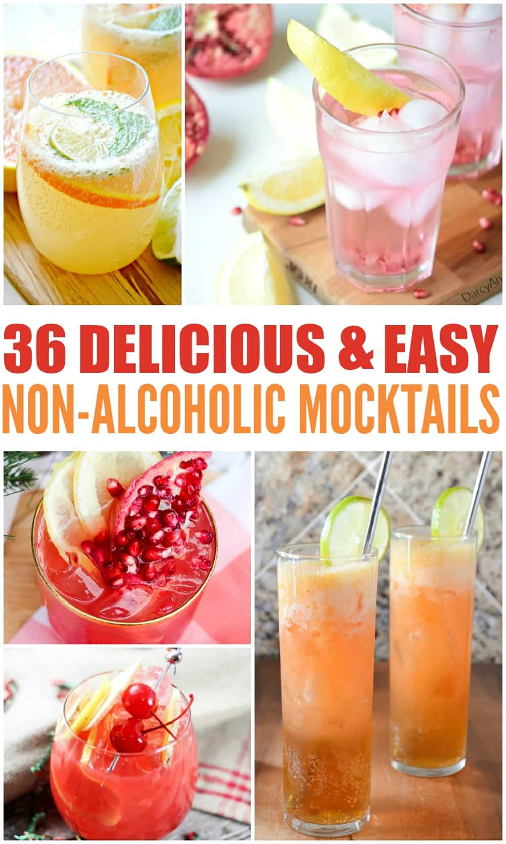 These easy mocktail recipes are SO good! Fresh, simple, and perfect for the whole family.