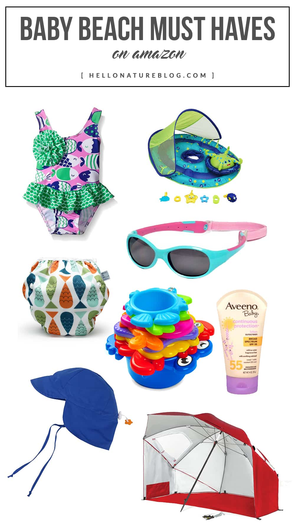 Baby Beach Must Haves on Amazon