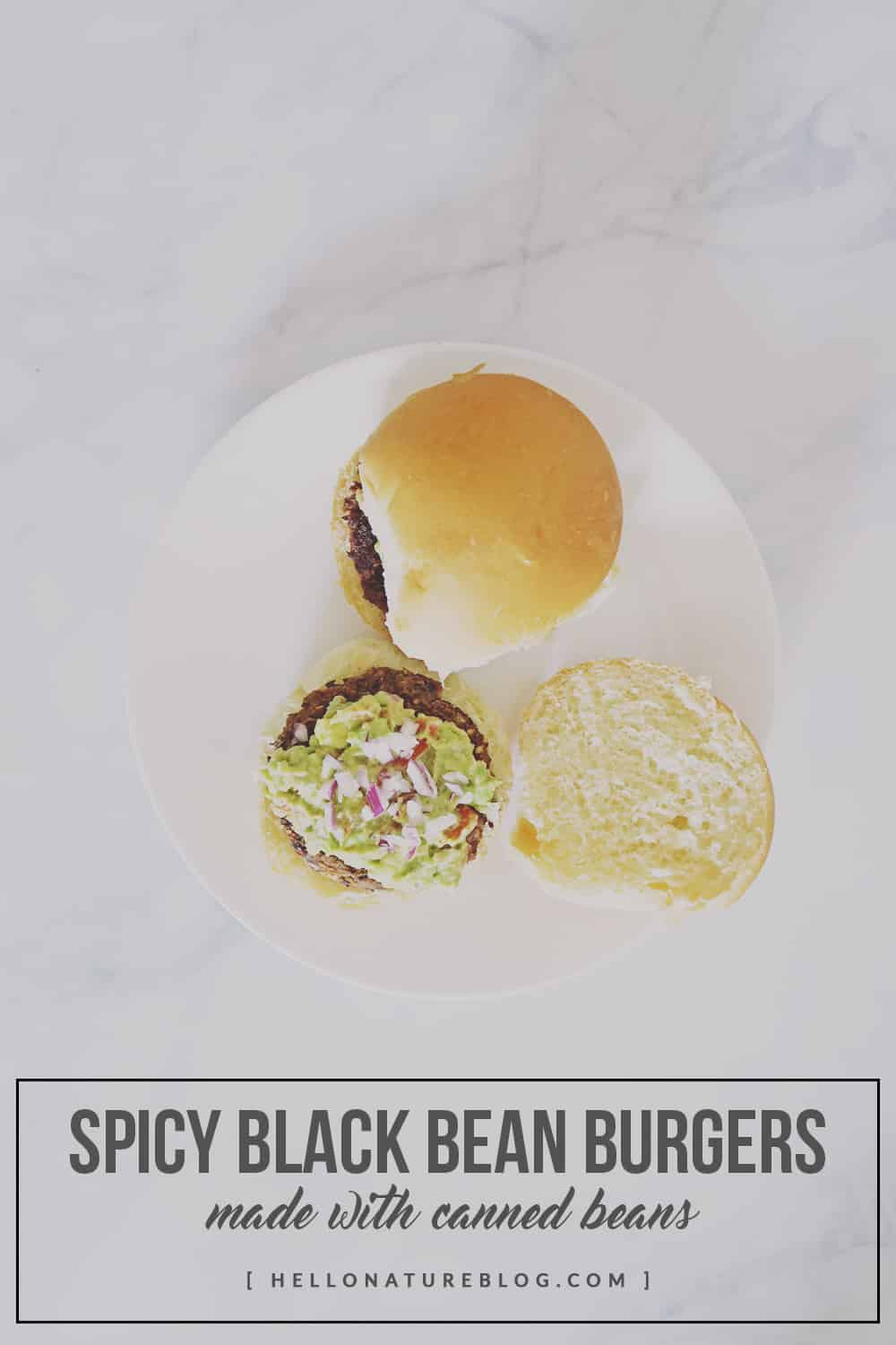 Add a little bit of zest to your life with this spicy black bean burger recipe. Made with canned beans and simple pantry ingredients!