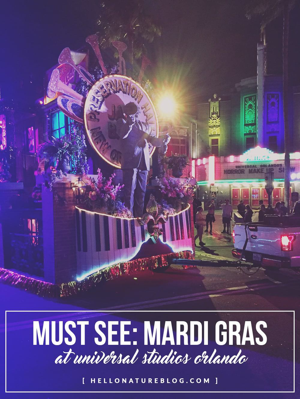 Headed to Florida in February or March? Be sure to check out the Mardi Gras celebration over at Universal Studios Orlando!