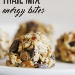 Need the perfect small snack to maintain your energy while you're on your adventures? You HAVE to try these No Bake No Bake Trail Mix Energy Bites!