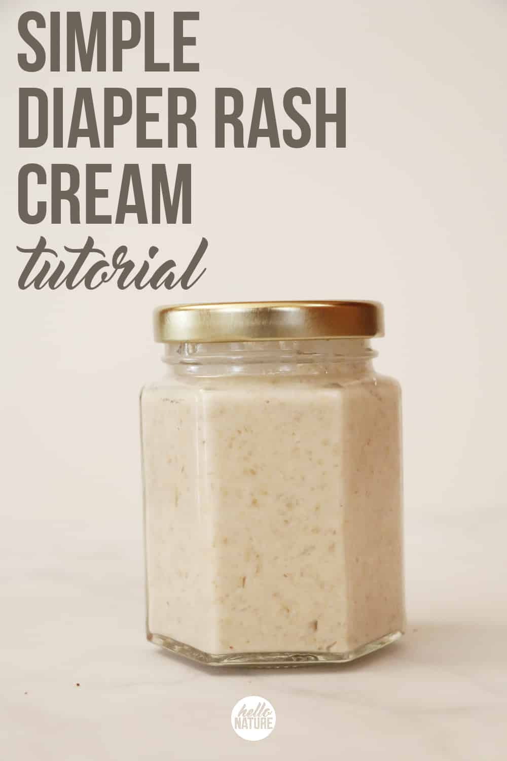Looking for an alternative to store bought cream? This simple DIY diaper rash cream will provide relief with just a few pantry ingredients!