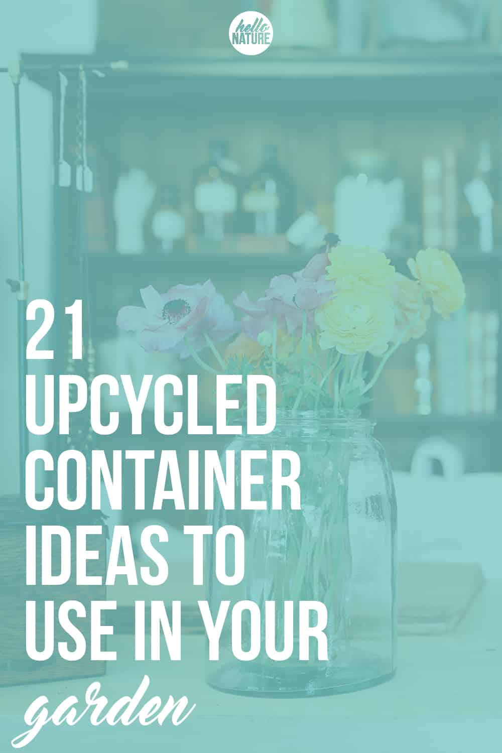 Go green and repurpose some of your worn out household items with these upcycled container ideas for container gardens!