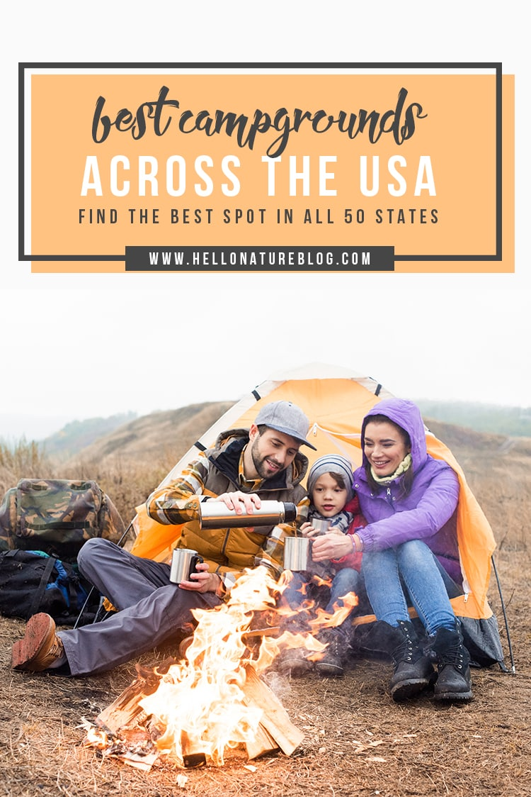 Wisconsin travel blogger Ashley from Hello Nature shares the best campsites across the US.