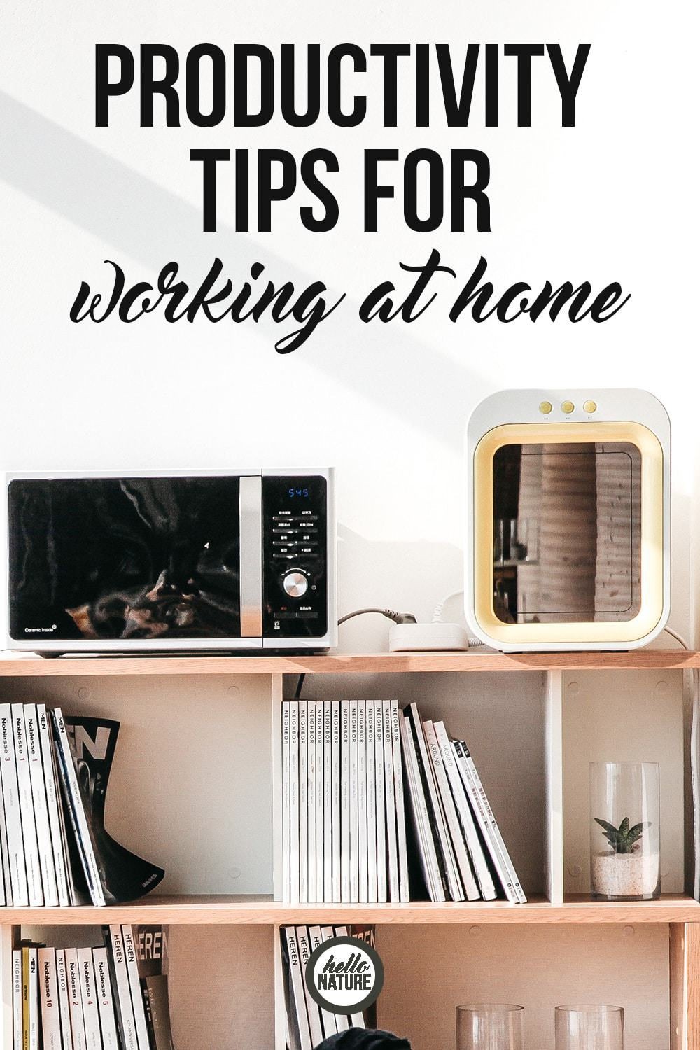 "Go from ""I never accomplish anything!"" to ""I conquered today like a boss!"" with these productivity tips for working at home."