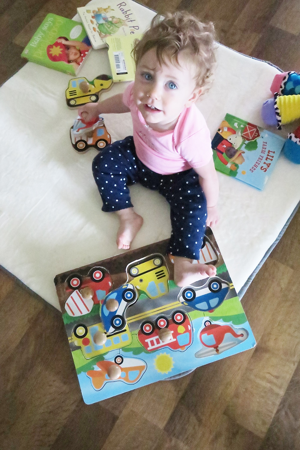 Looking for a safe area for your baby to play? Try Squishy Mat, the first memory foam baby mat. It's a great item to have when you're on the go!