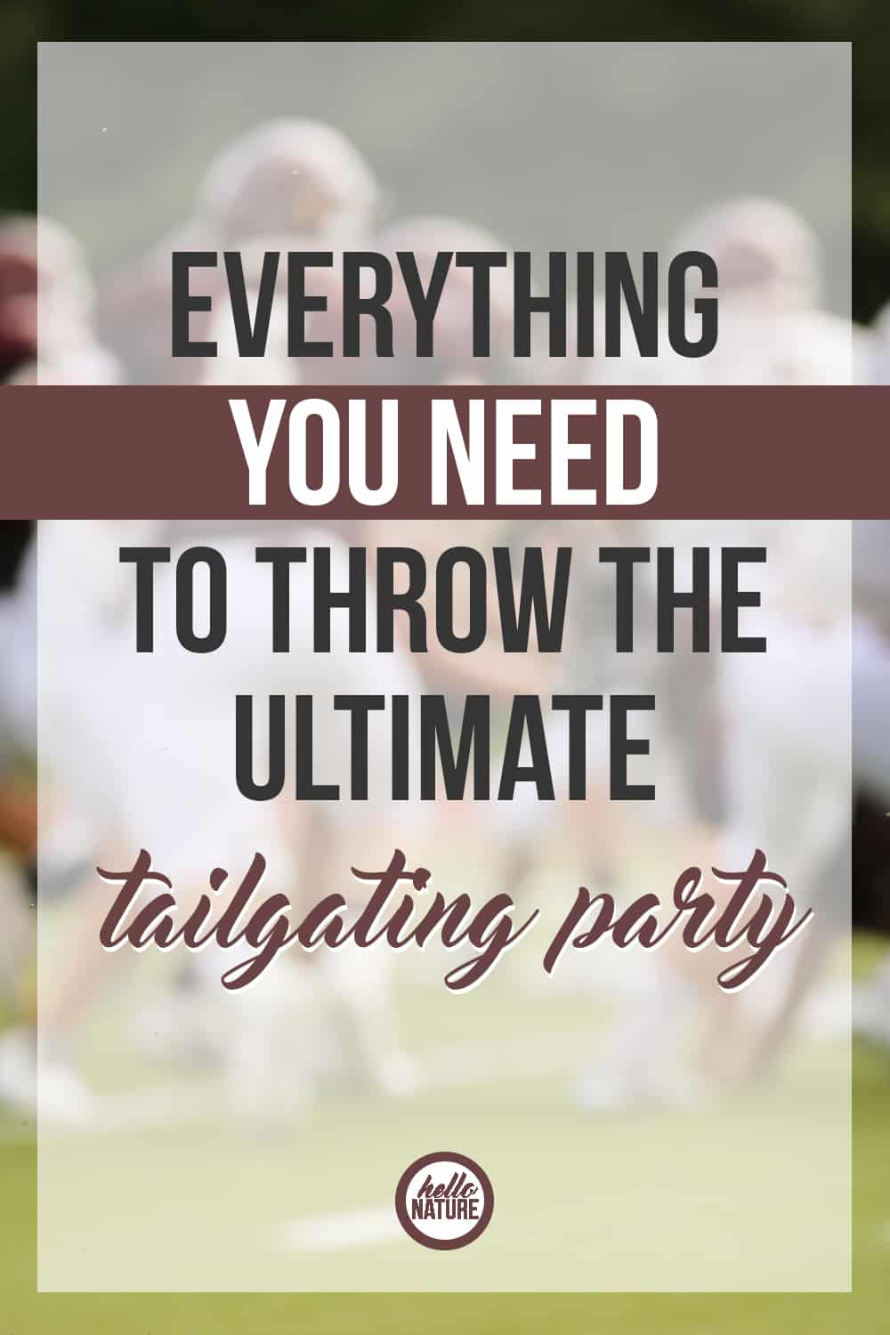 Tailgating season is upon us! Bring on Sundays filled with football, snacks galore, and family fun. If you're in need of the ultimate tailgating party ideas, you've come to the right place!