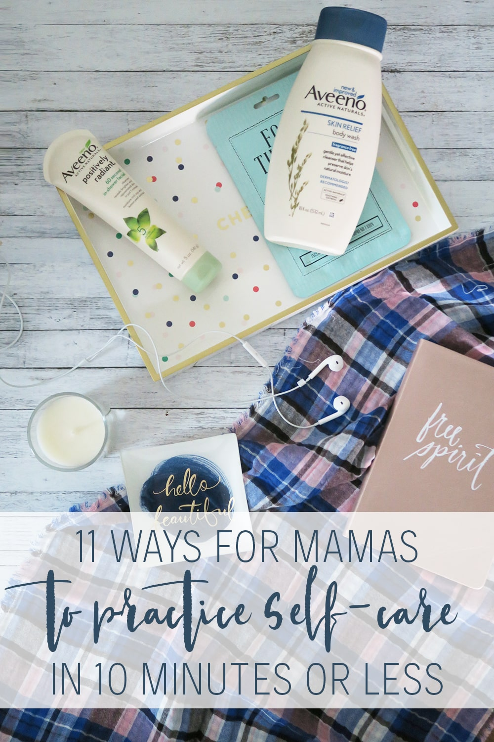 When it comes to self care for moms, it can feel like it's impossible to take time for yourself. But if you've got 10 minutes, this list can make it feasible and *maybe* even somewhat easy!